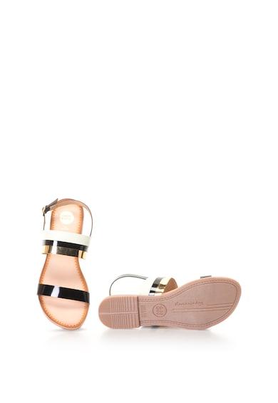 Gioseppo Sandale de piele cu detalii contrastante Femei