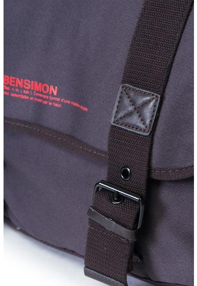 Bensimon Geanta messenger cu detaliu logo Femei