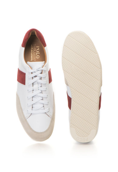Polo Ralph Lauren Pantofi sport de piele si piele intoarsa Price Barbati