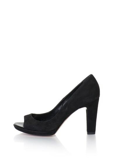 Zee Lane Pantofi de piele intoarsa cu varf decupat Femei