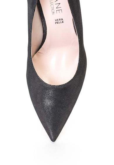 Zee Lane Collection Bőrhatású cipő fényes hatással női