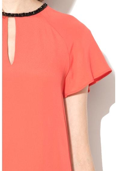 Pennyblack Bluza cu maneci scurte si decoratiuni Falasia Femei