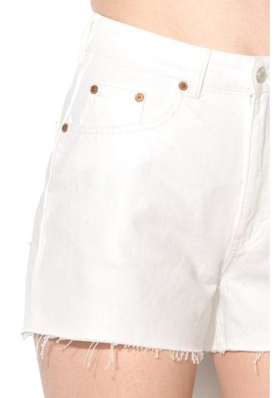 Cheap Monday Pantaloni scurti din denim cu talie inalta Donna Femei