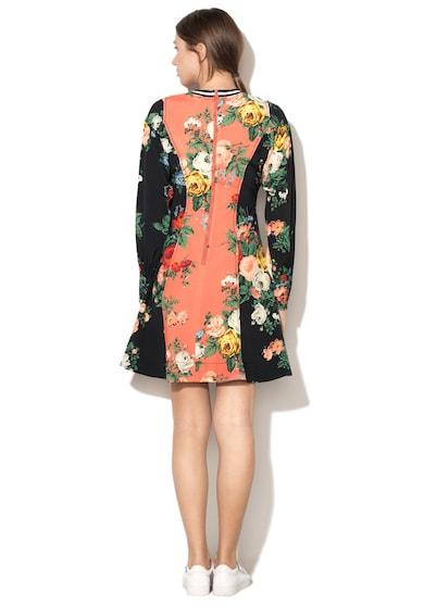 Sportmax Code Rochie evazata cu model floral Moriana Femei