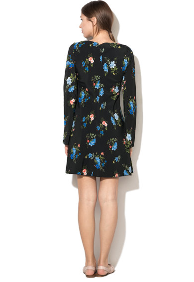 Sportmax Code Rochie evazata cu model floral Nettare Femei