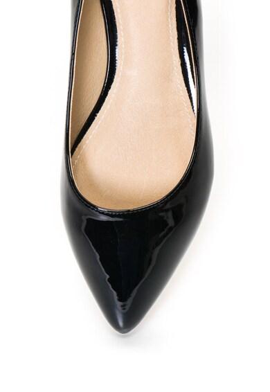 9330c2c1a1 Hegyes orrú lakkozott balerina cipő - Buffalo (H690A-30-01-BLACK)