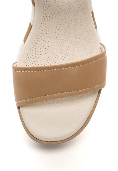 U.S. Polo Assn. Sandale wedge cu bareta pe glezna Tatiana Rock Femei