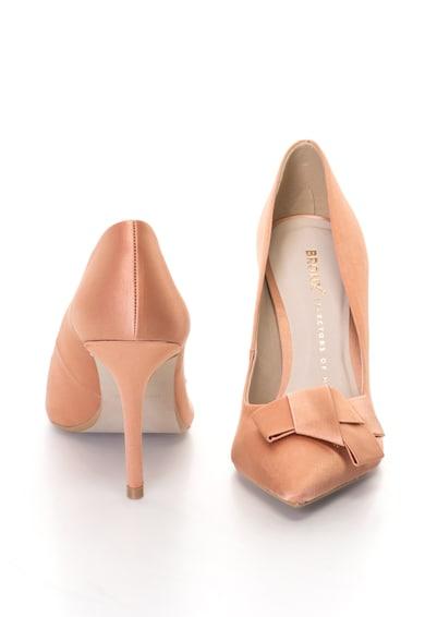 Bronx Сатинирани обувки с ток стилето и панделка Жени
