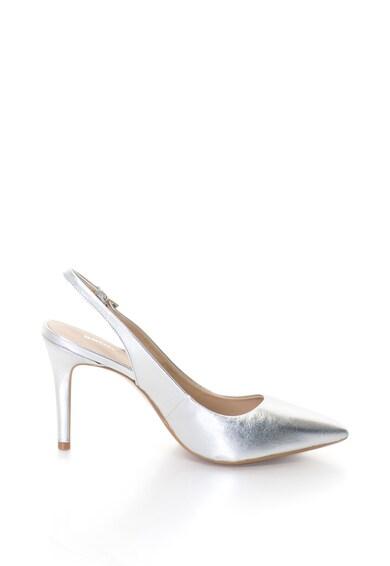 Bronx Pantofi slingback de piele cu varf ascutit Femei