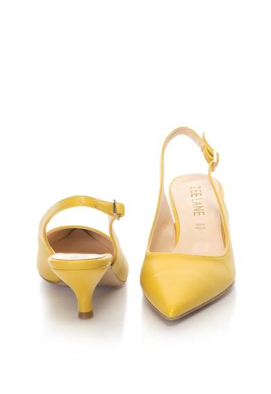 Zee Lane Pantofi slingback de piele sintetica, cu varf ascutit Femei