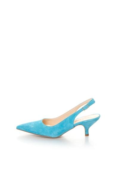 Zee Lane Велурени обувки с отворена пета и остър връх Жени