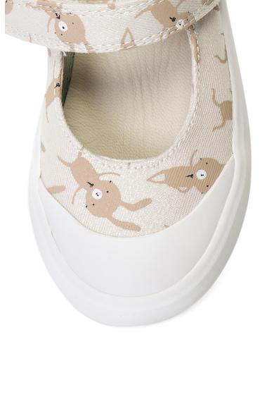 Clarks Pantofi Mary Jane din material textil cu imprimeu COMIC BUZZ Fete