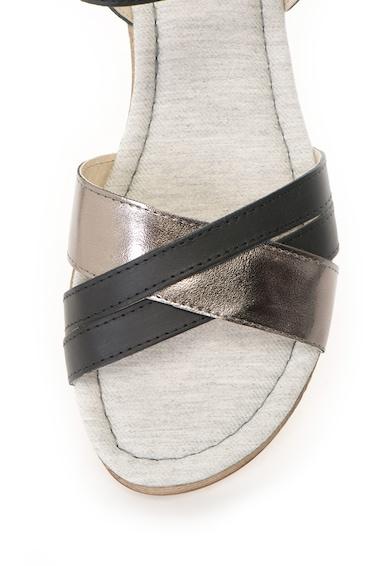 Big Star Sandale slingback cu insertii de piele Femei
