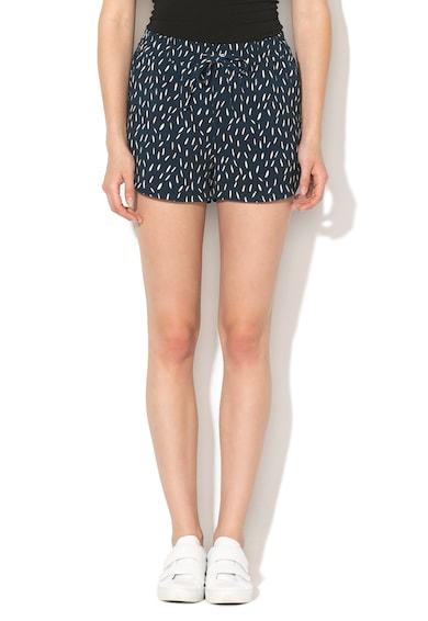 Only Pantaloni scurti cu imprimeu grafic si snur pentru ajustareTurner Femei