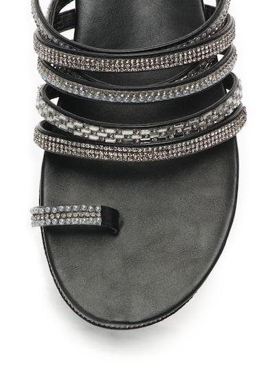Oakoui Papuci cu decoratiuni si bareta separatoare Femei