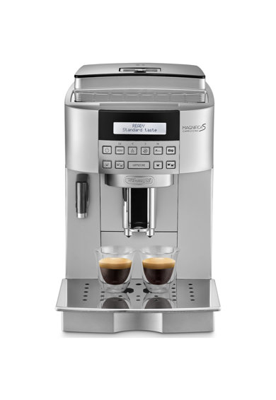 DeLonghi Espressor Automat De'Longhi Magnifica 22.360 S, 1450 W, 15 bar, Display Lcd, Cappuccino, Argintiu Femei