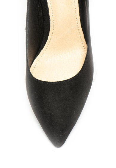 Buffalo Обувки с ток и лъскав ефект Жени