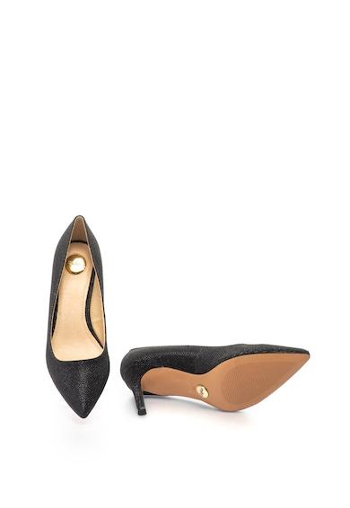 Buffalo Pantofi cu varf ascutit si aspect stralucitor Femei