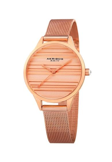 AKRIBOS XXIV Часовник с метална верижка 133 Жени