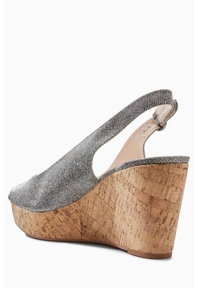 NEXT Sandale wedge cu varf decupat Femei
