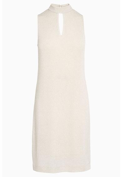 NEXT Egyenes fazonú ruha fényes szálbetétekkel női