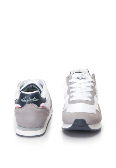Australian Sneakers cipő nyersbőr anyagbetétekkel férfi