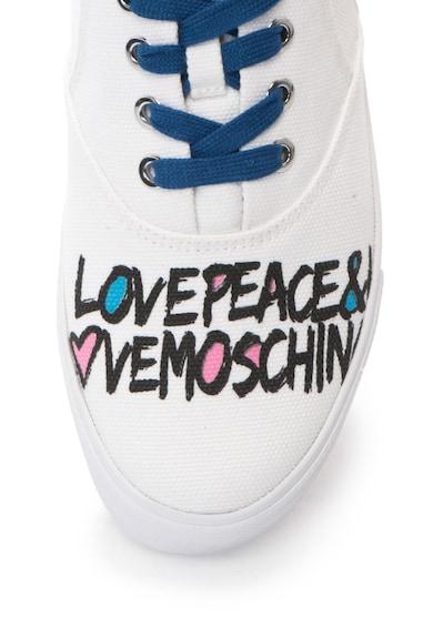 Love Moschino Tenisi cu imprimeu text Femei