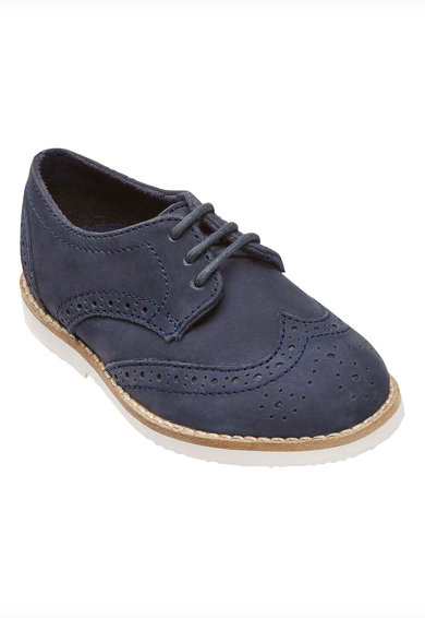 NEXT Nyersbőr brogue cipő Fiú