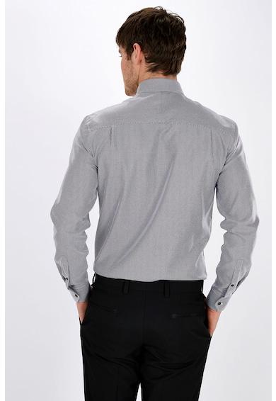 NEXT Десенирана вталена риза Мъже