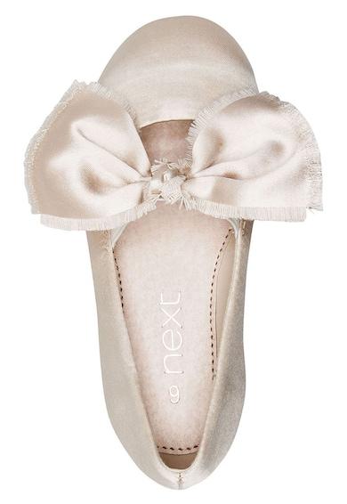 NEXT Pántos balerinacipő dekoratív masnival Lány