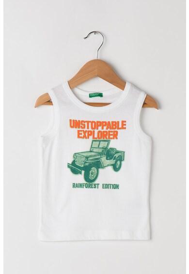 United Colors of Benetton Mintás pamuttrikó Fiú