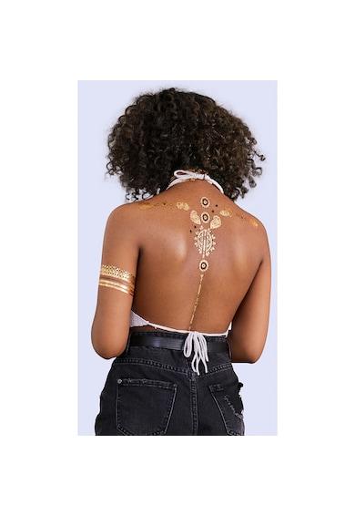 Rimmel Tatuaje temporare  London INK ME, 001, 2 folii Femei