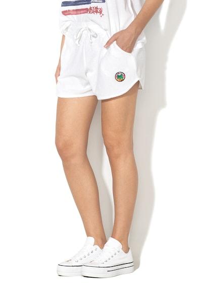 Napapijri Pantaloni scurti cu detaliu aplicat Femei