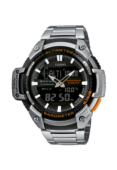 Casio Ceas cronograf cu display analog si digital Barbati