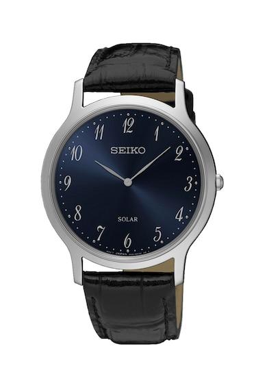 Seiko Аналогов часовник със соларно захранване Мъже