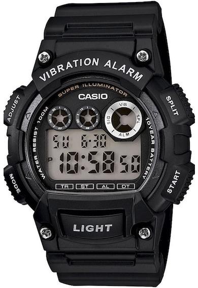 Casio Ceas cronograf digital cu lumina de fundal Barbati