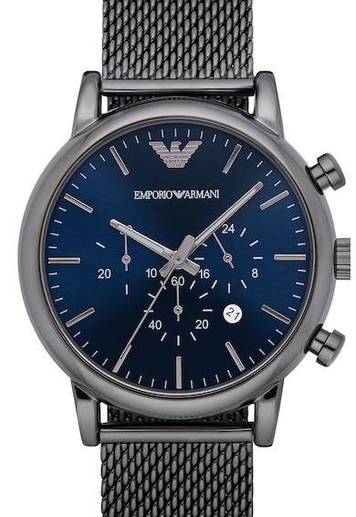 Emporio Armani Овален часовник с мрежеста верижка Мъже