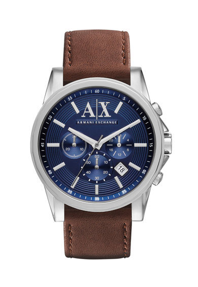 ARMANI EXCHANGE Часовник с кожена каишка Мъже