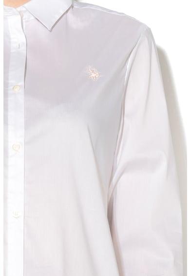 U.S. Polo Assn. Camasa cu terminatie asimetrica Femei