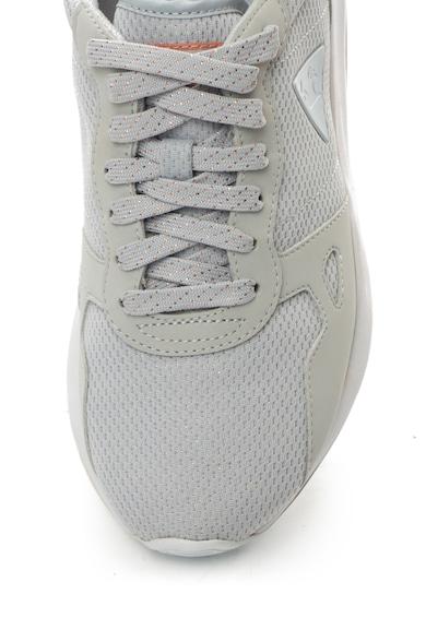 Le Coq Sportif Спортни обувки R600 от еко набук и мрежеста материя Жени