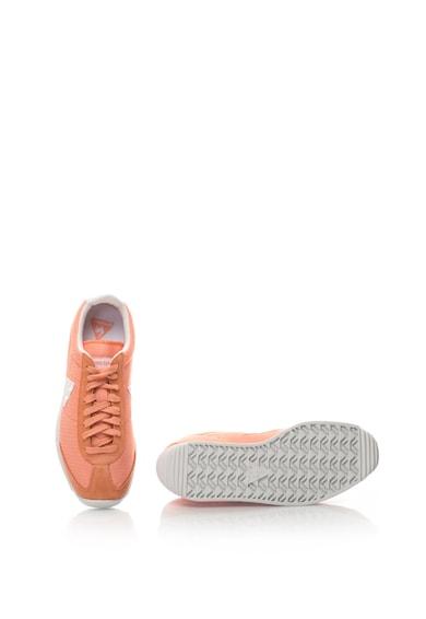 Le Coq Sportif Pantofi sport de plasa, cu garnituri de piele intoarsa Quartz Feminine Femei