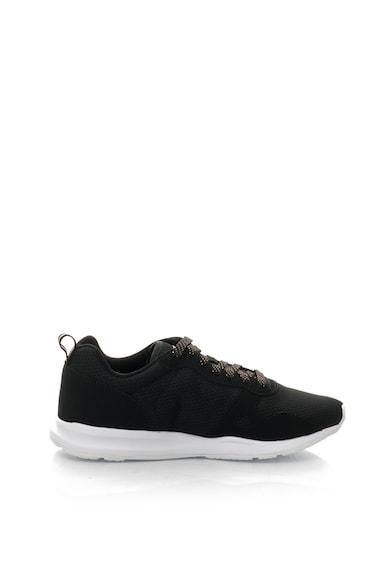 Le Coq Sportif Pantofi sport de piele nabuc sintetica si plasa R600 Femei