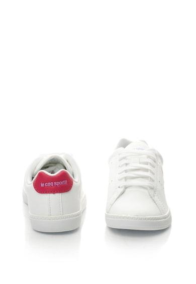 Le Coq Sportif Courtone műbőr cipő perforált részletekkel Lány