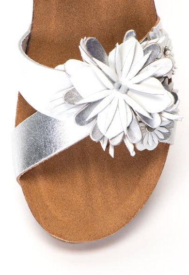 Zee Lane Кожени сандали Ilenia със скосена платформа Жени