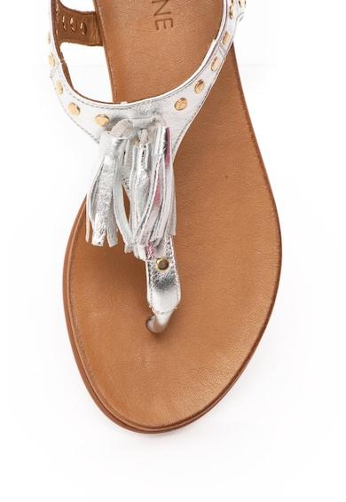 Zee Lane Sandale cu bareta separatoare, de piele Femei
