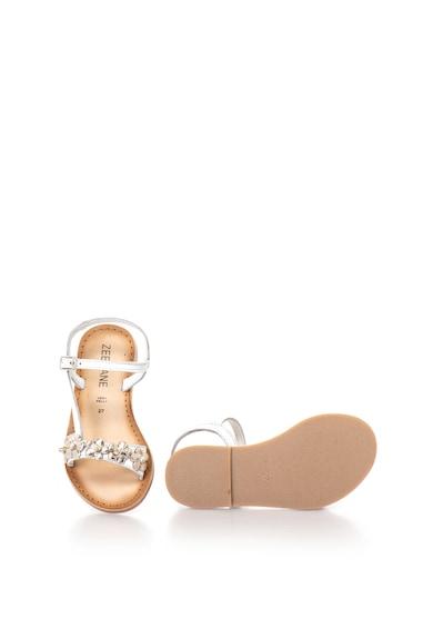Zee Lane Sandale de piele cu aplicatii florale Jocosa Fete