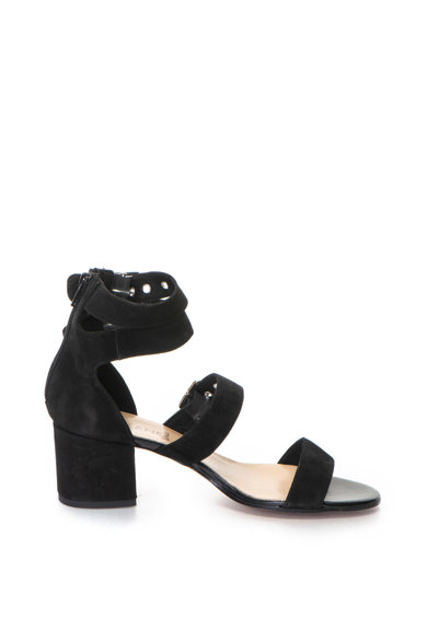 Zee Lane Велурени сандали с каишка на глезена Жени