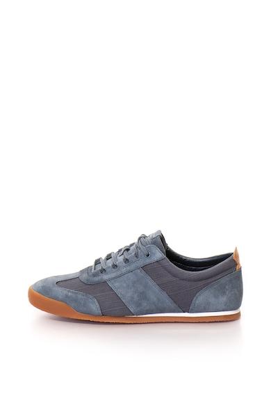 Clarks Siddal sneakers cipő nyersbőr részletekkel, férfi