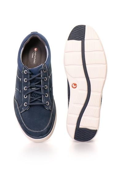 Clarks Un Abode nubuk bőr sneakers cipő férfi