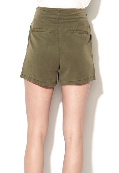Vero Moda Pantaloni scurti lejeri din lyocell cu cordon in talie Mia Femei